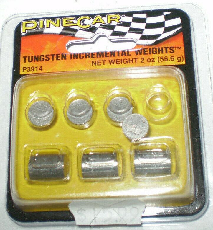 Pinecar Tungsten Weights 3 oz Cylinder Pinewood Derby